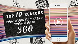 Top 10 Reasons Your Mobile Ad Spend Should Be in 360 Degree Content