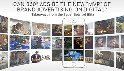 """Can 360 Degree Ads be the New """"MVP"""" of Brand Advertising on Digital?: Takeaways from the Super Bowl Ad Blitz"""